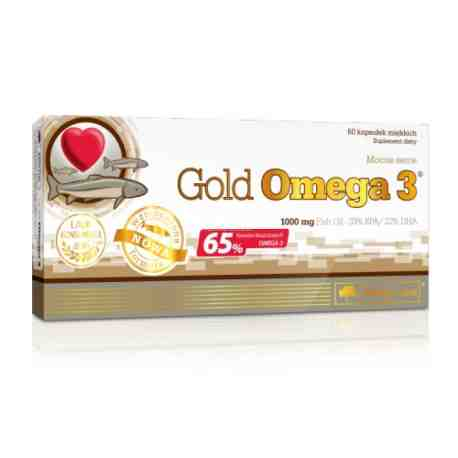 OLIMP Gold Omega 3 1000mg (65%)x 60kaps