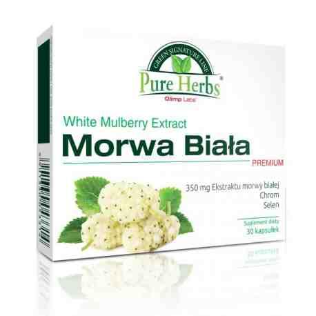 Olimp Morwa Biała Premium kaps. 30 kaps.